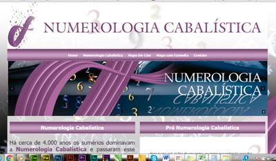 Numerologia Cabalistica - Mapa Numerológico